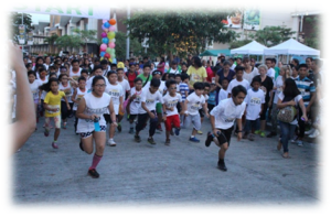 Second wave of runners